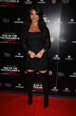 India Reynolds Attend Rise of the Footsoldier 4: Marbella at Troxy in London