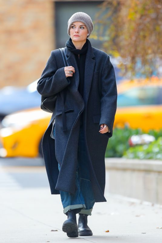 Jaimie Alexander Out in New York