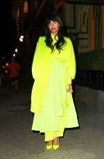 Jameela Jamil Glows in neon at the CFDA Awards