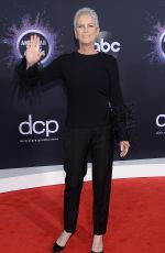 Jamie Lee Curtis Attends the 2019 American Music Awards at the Microsoft Theater in Los Angeles