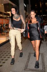 Jemma Lucy Attending Anna Vakili x PrimaLash launch party in London