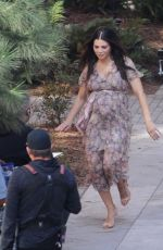 Jenna Dewan On the set of a photoshoot in Los Angeles