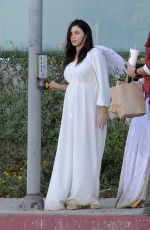 Jenna Dewan Spotted dressed as an angel in Los Angeles
