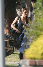 Jennifer Garner Heading to a gym in Santa Monica