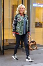 Jenny McCarthy Spotted leaving work in New York City