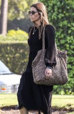 Jessica Biel Out for a business meeting at The Beverly Hills Hotel