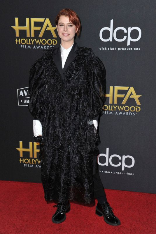 Jessie Buckley At 3rd Annual Hollywood Film Awards, Arrivals, Beverly Hilton, Los Angeles