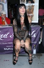 Jessie Lee At Exxxotica Expo 2019 at the Edison Hotel and Convention/Expo Center in New Jersey