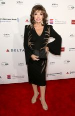 Joan Collins At Mark Zunino Atelier Fashion and Cocktail Reception to Benefit The Elizabeth Taylor AIDS Foundation