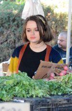 Joey King At a Farmer