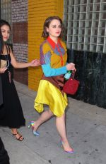 Joey King At Goya Studios in Hollywood