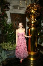 Joey King At HFPA & THR Golden Globe Ambassador Party in West Hollywood