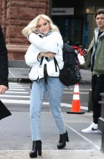 Jordyn Jones Arriving at Build Series in NY