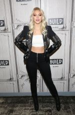 Jordyn Jones Visits Build Series in NY