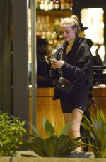 Josephine Skriver Enjoys a romantic date night with Alexander DeLeon at Tessa Restaurant in LA