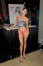 Judy Jolie At Exxxotica Miami 2019 at The Miami Airport & Convention Center in Miami