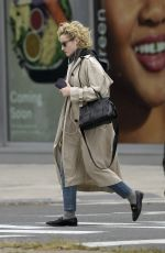 Julia Garner Out and about in the east village in NYC