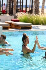 Julianne Hough, Brooke Burke, Hayley Erbert At the new Nobu Hotel Los Cabos