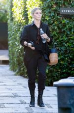 Julianne Hough Checks her messages as she leaves her office in West Hollywood