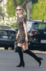 Julianne Hough Stops by her office in West Hollywood