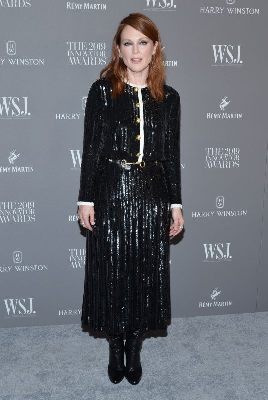 Julianne Moore Attends the WSJ Magazine 2019 Innovator Awards at The Museum of Modern Art in New York