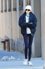 Kaia Gerber Heading to the gym in NYC