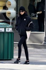 Kaia Gerber Leaving a workout in NYC
