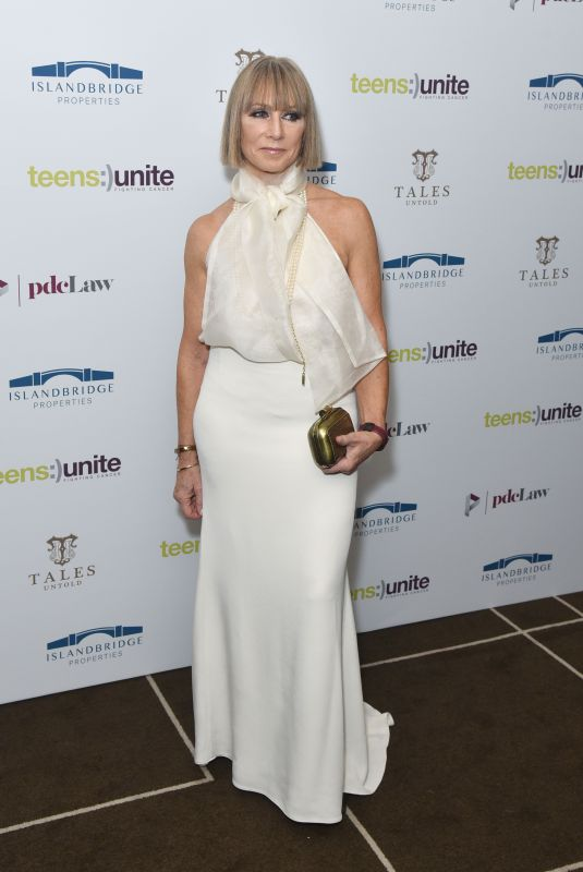 Karen Millen Attends the Teens Unite annual fundraising gala held at the Rosewood Hotel in London