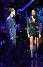 Karen Olivo At The Late Show with Stephen Colbert