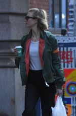 Karlie Kloss Steps out in Soho
