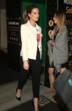 Kate Beckinsale At Christmas At The Grove in Los Angeles