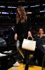 Kate Beckinsale At the Lakers/Heat game in Los Angeles