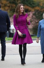 Kate Middleton Opens The Nook Children Hospice in Framingham Earl, Norfolk