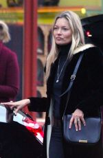 Kate Moss On a late afternoon shopping trip in Notting Hill
