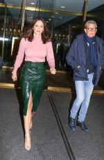 Katharine McPhee Leaving The Today Show in NYC