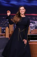 Katherine Langford At The Tonight Show starring Jimmy Fallon in New York City