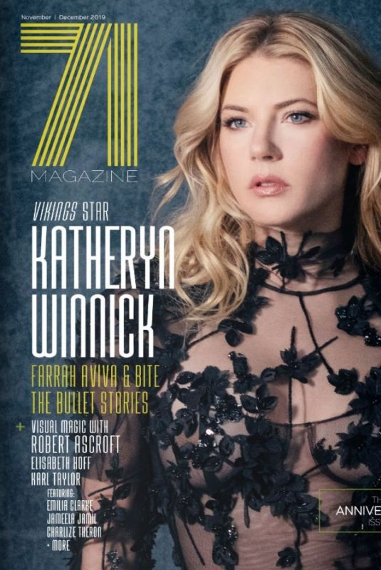 Katheryn Winnick On the Cover of 71 Magazine, November / December 2019