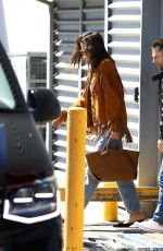 Katie Holmes Lands In Australia To Promote McHappy Day, Sydney
