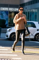 Katie Holmes Out in Midtown New York