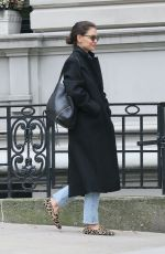 Katie Holmes While out for a walk in New York City