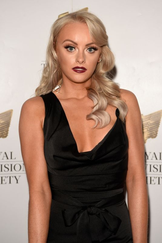 Katie McGlynn At the RTS Awards in Manchester