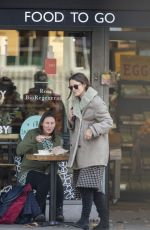 Keira Knightley Grocery shopping in London