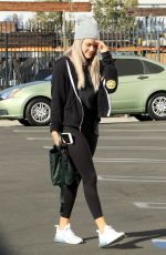 Kel Mitchell and Witney Carson seen arriving for practice at the Dancing With The Stars studio