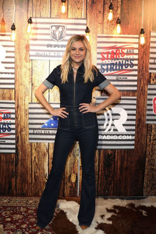 "Kelsea Ballerini At photocall during ""Stars and Strings Presented by RAM Trucks Built to Serve"" a RADIO.COM event in Detroit"