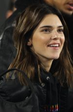 Kendall Jenner At the Rams/Ravens game in Los Angeles