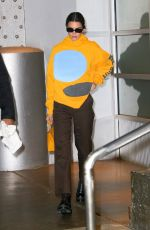 Kendall Jenner Exits Pier59 Studios in New York City