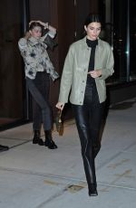 Kendall Jenner & Gigi Hadid Out & about in New York