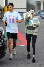 Kendall Jenner Goes out for lunch with Fai Khadra
