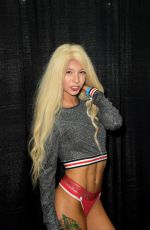 Kenzie Reeves At Exxxotica Miami 2019 at The Miami Airport & Convention Center in Miami
