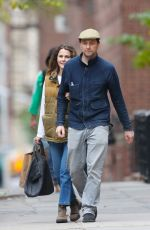 Keri Russell Out in Brooklyn